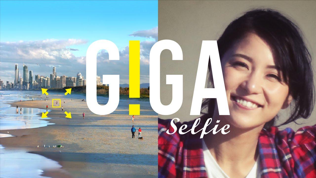 Giga Selfie, Özçekimi Yeni Bir Boyuta Taşıyor